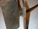 Host maker: Metal, 27 inches long; used like a waffle iron to make communion wafers. Photo: DP