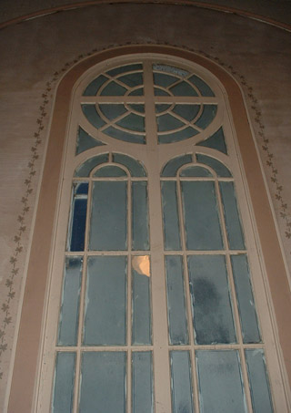 Restoration of windows and walls are ongoing.  Photo: DP